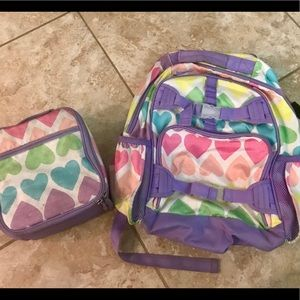 Pottery Barn Kids Backpack and Lunch